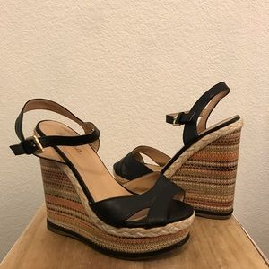 Soda Wedge Sandal size 7.5